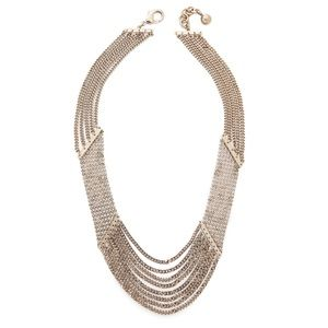Lulu Frost Gold Draped 'Claude' Necklace